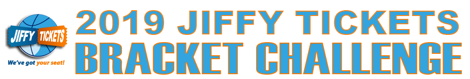 2019 Jiffy Tickets Bracket Challenge