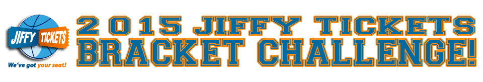2015 Jiffy Tickets Bracket Challenge