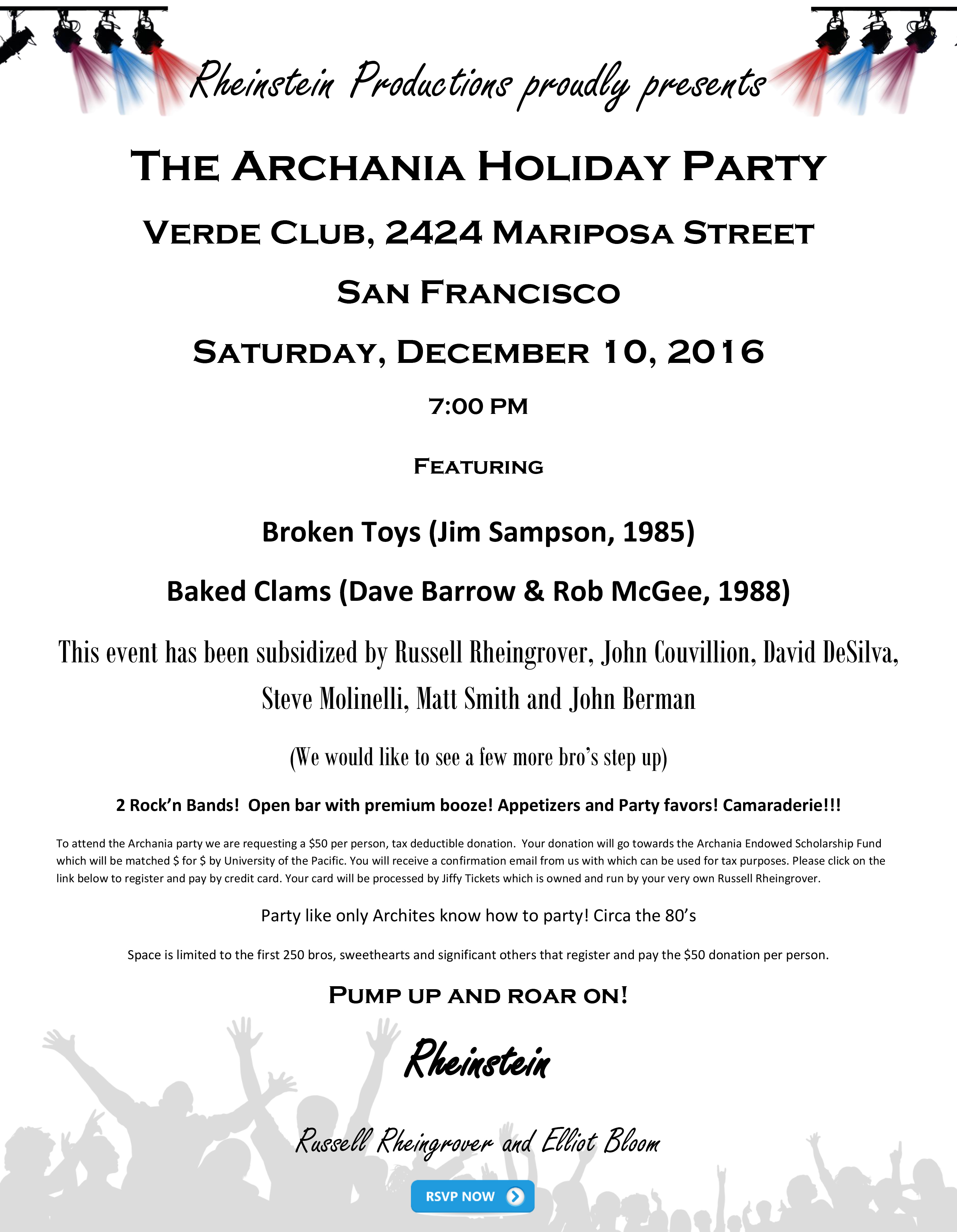 Archania Holiday Party